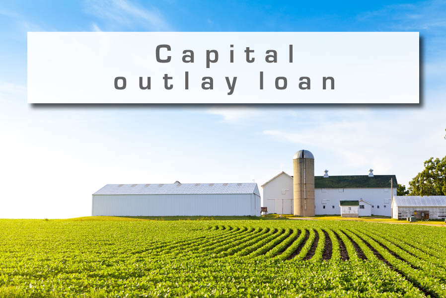 Capital outlay loan
